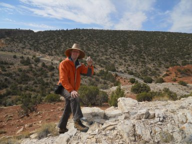 James Hagadorn in Wyoming.