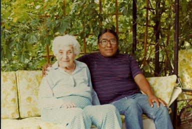Ruth Underhill and Joseph Enos