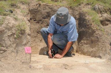 Fieldwork with Steve Holen in Kanorado Kansas