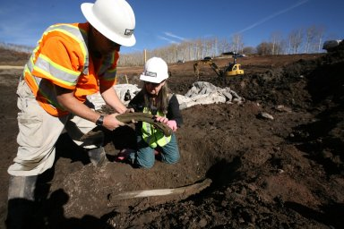Snowmastodon Excavation and Site, Snowmass Reservoir