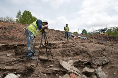 Snowmastodon Excavation, People & Fossils