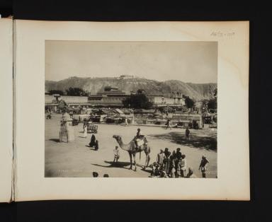 Street scene in Jeypore, India.