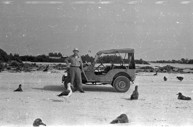 Fieldwork on Midway Atoll