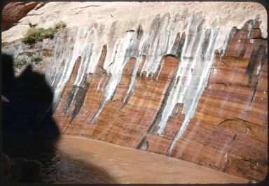 Canyon walls in Glen Canyon