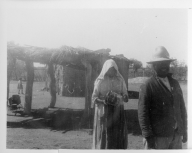 Unidentified Tohono O'0dham Woman and Man