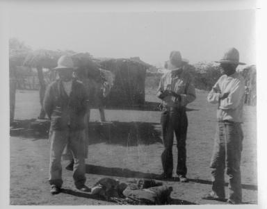 Three Unidentified Tohono O'odham Men