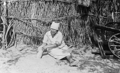 Unidentified Tohono O'odham Woman