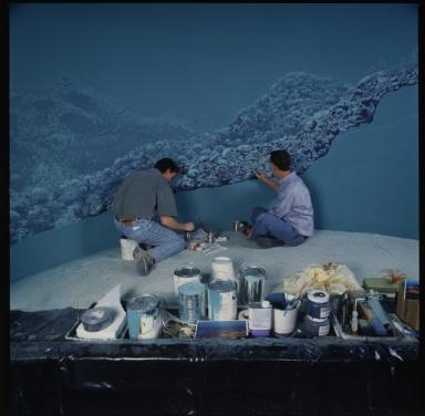 Sea Lily Reef diorama