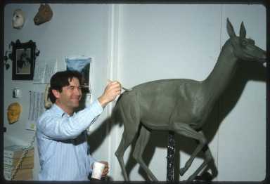 Models of ancient gazelle camels