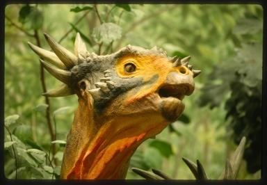 Cretaceous Creekbed dioramas