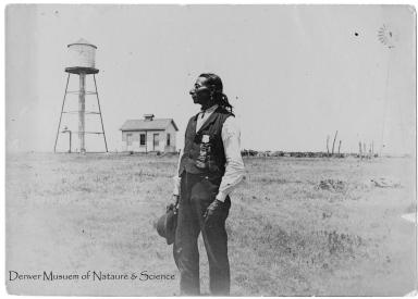 Sioux Policeman