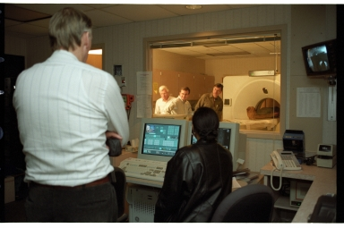 Reading CT Scan of mummy