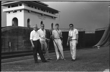 Field team at Panama Canal