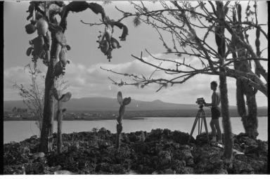 Jack Murphy in Galapagos Islands.