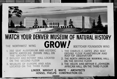 Watch Your Museum Grow Sign
