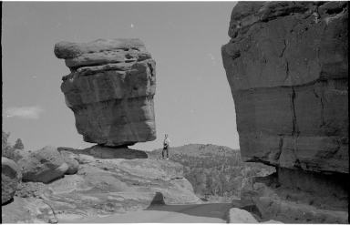 Jack Murphy and Balanced Rock