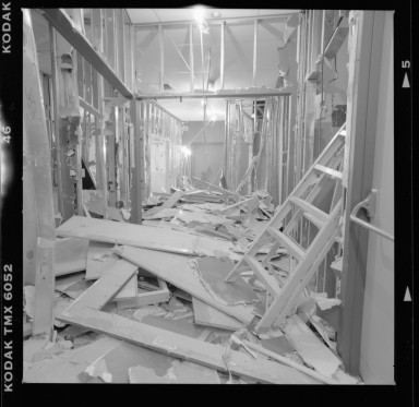 Coors Mineral Hall construction