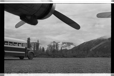 Airport at Denali National Park