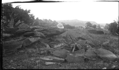 Remnants of fieldwork