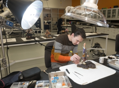 Conservation Work: Clean and Repair Konovalenko Gem Sculptures
