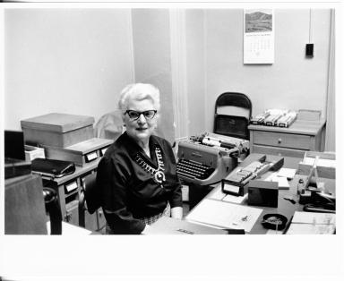 DMNH staff secretary