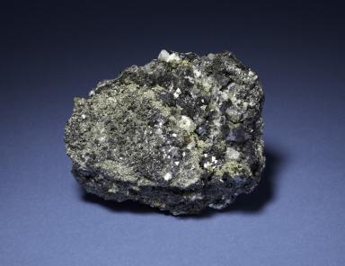 Pyrite, sphalerite, and epidote