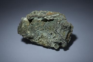 Malachite and chrysocolla