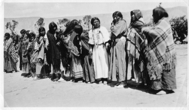 Portrait of Ute women