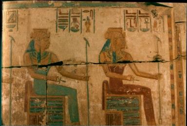 Artwork at Temple of Ramses II