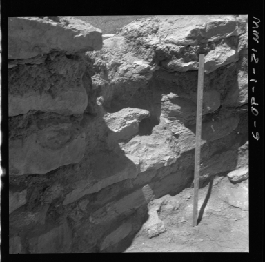 Partial wall at Fremont Excavation Site