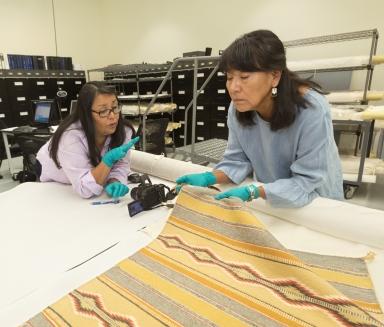 Examining Navajo Weaving