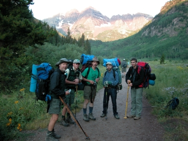 MaroonBells, Gast Site, Research Staff