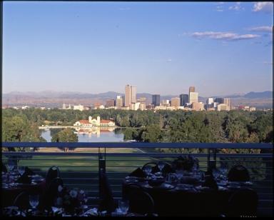 Denver Skyline from Sky Terrace