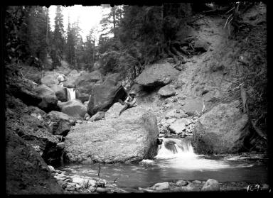 Rapids in West Fork