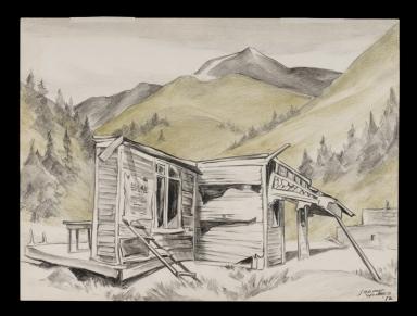 Schoolhouse ruins