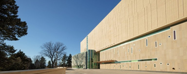 Education and Collections Facility-Exterior