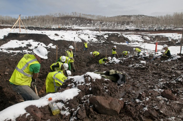 Snowmastodon Excavation, People