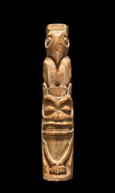 Northwest Coast Indians Miniature Totem Pole