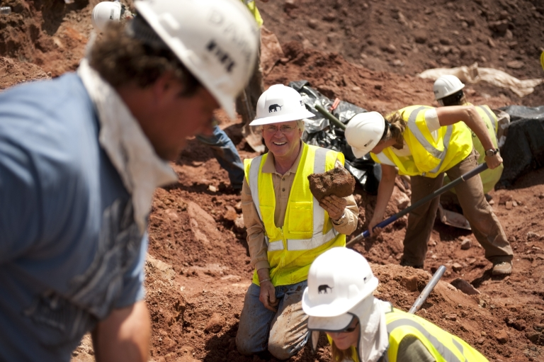 Snowmass Excavation from the George Sparks Collection