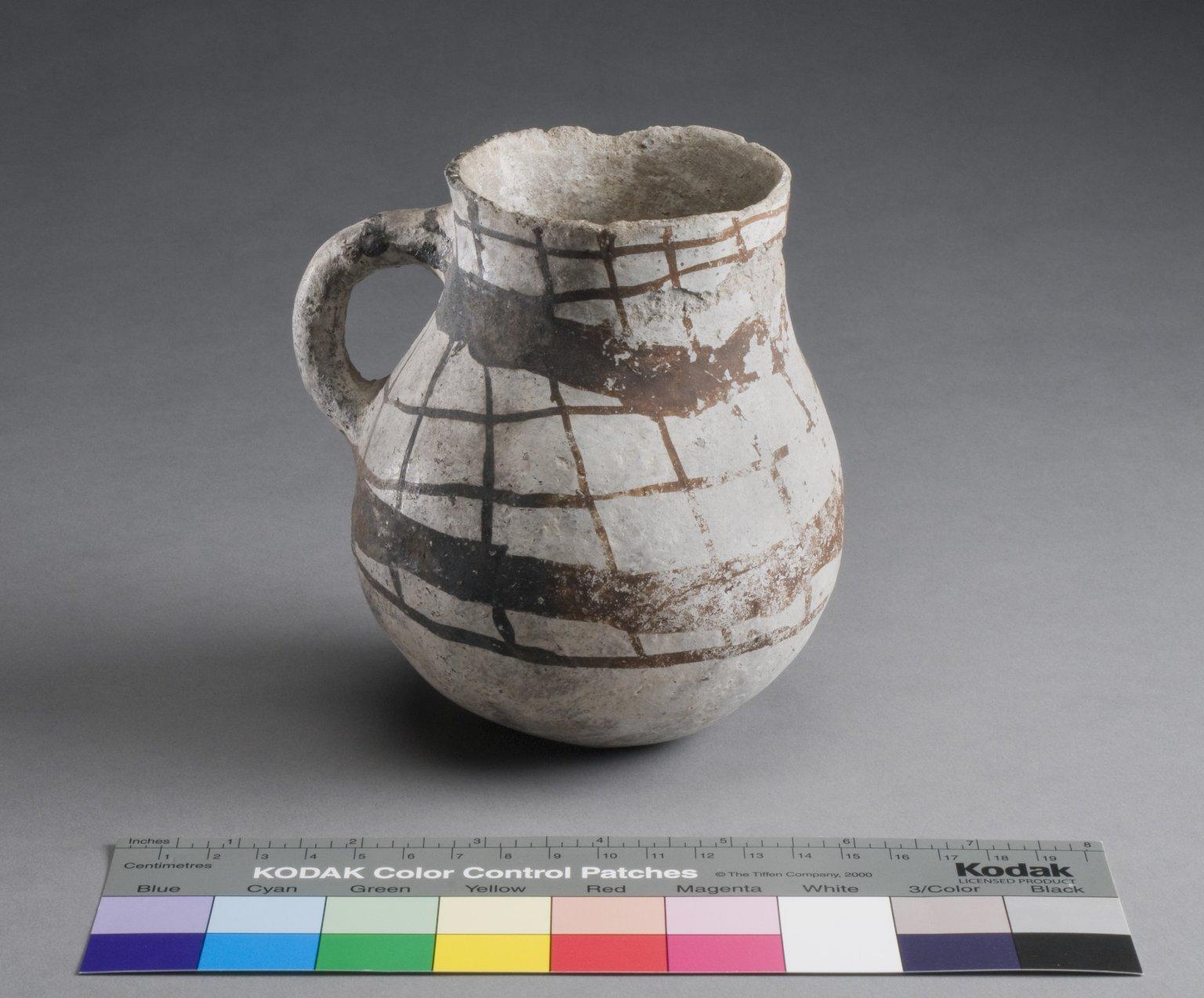 San Juan Ancestral Pueblo Clay Pitcher
