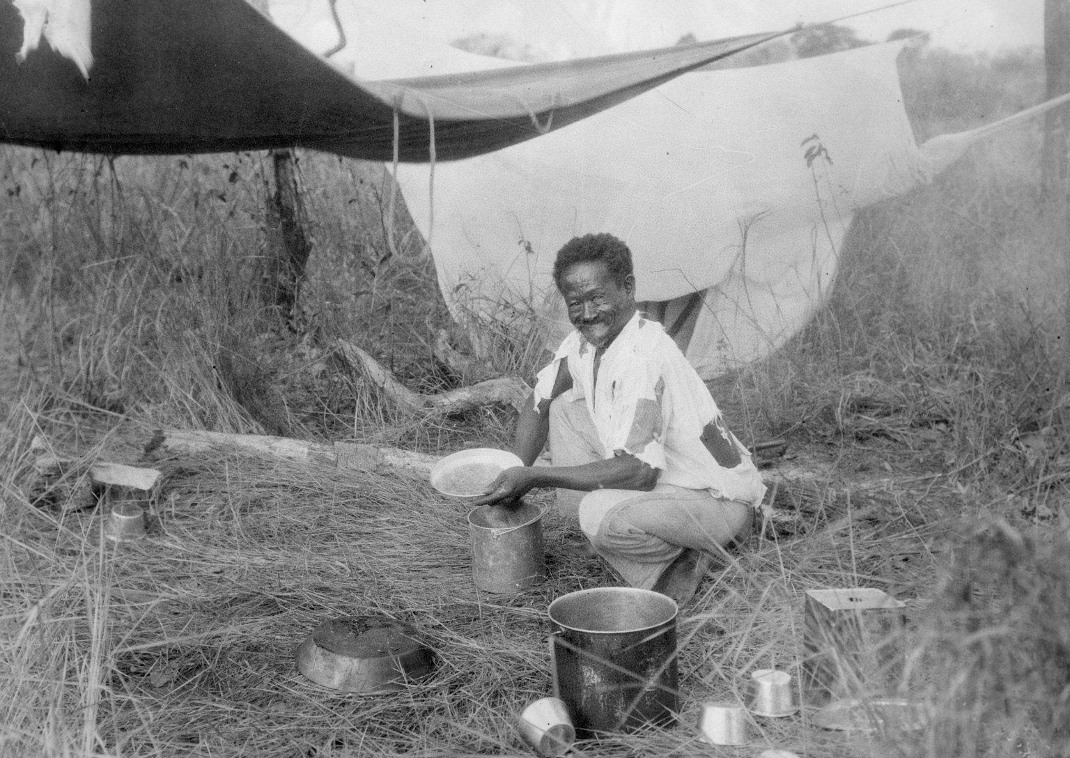Camp scenes at Descalvados (ranch)