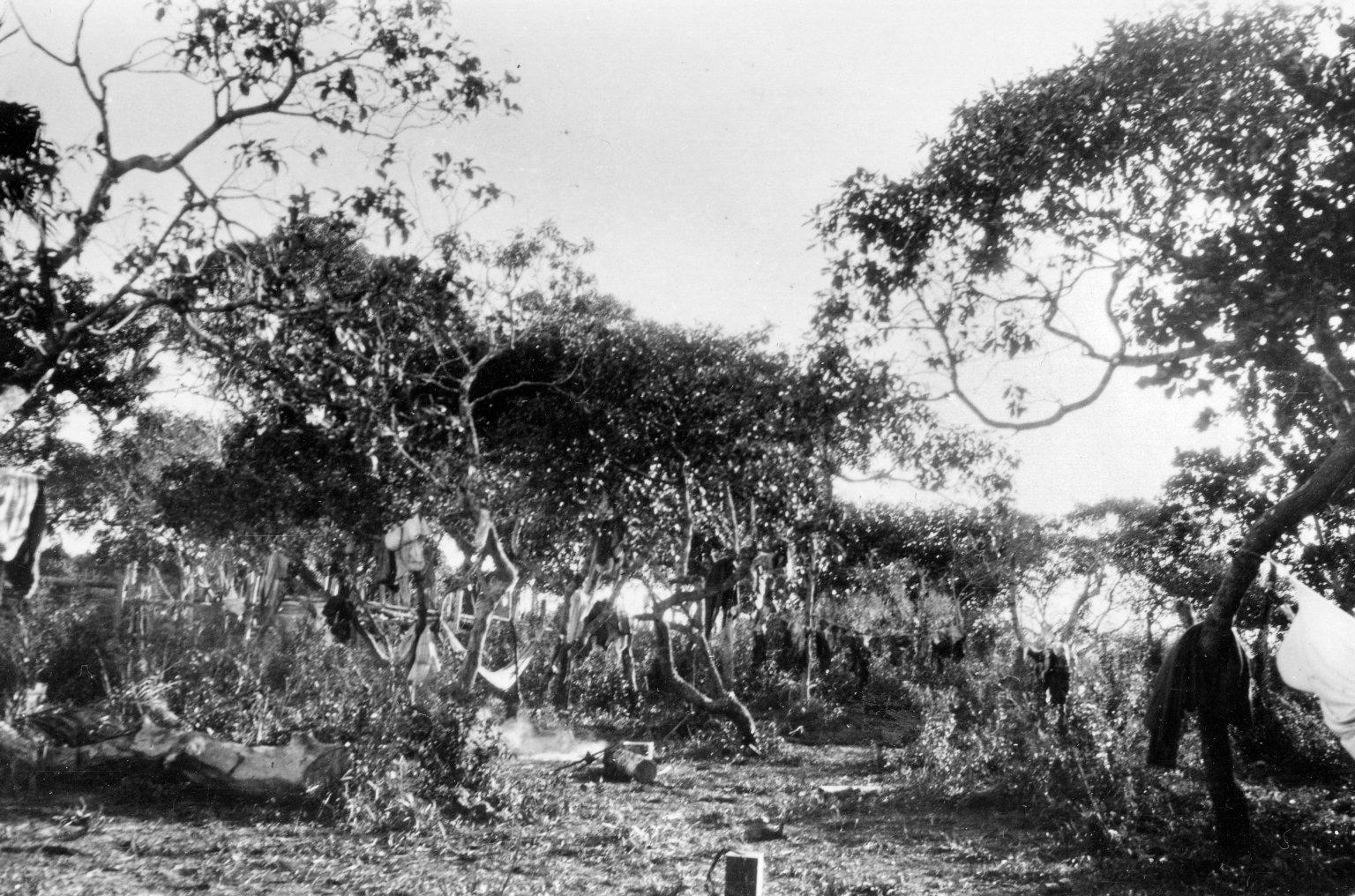 Museum camp scene, Descalvados (Ranch).