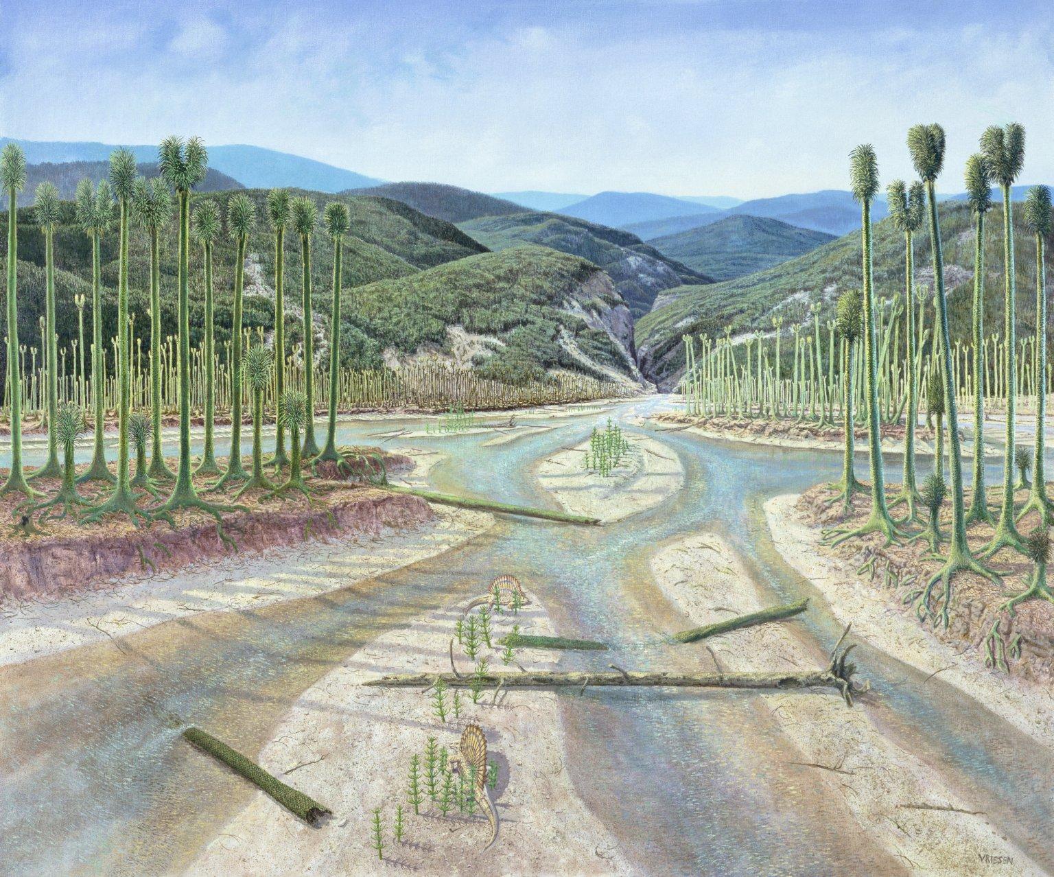 Ancient Denvers Paintings - Ancestral Rockies