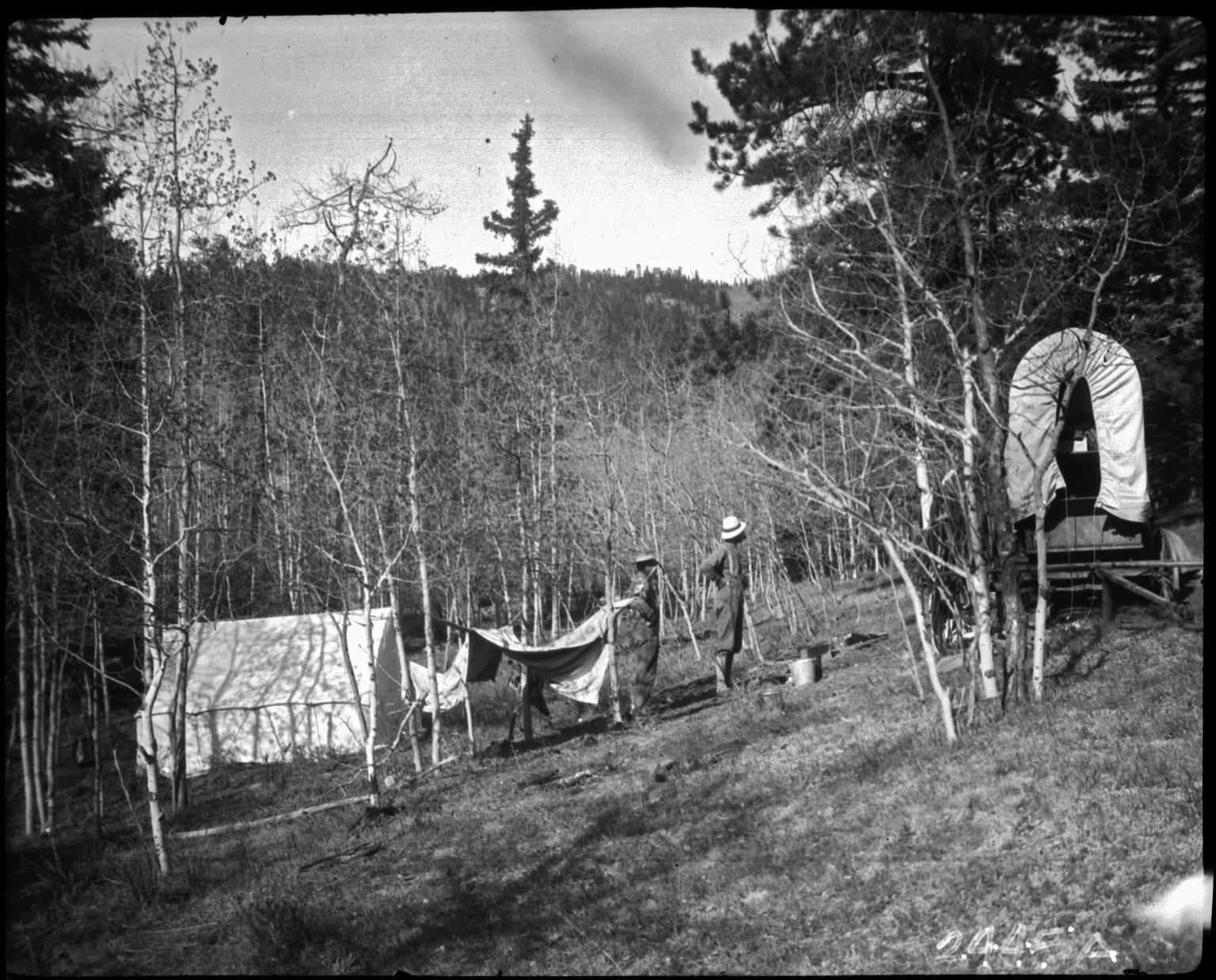 Camp at Evan's Ranch