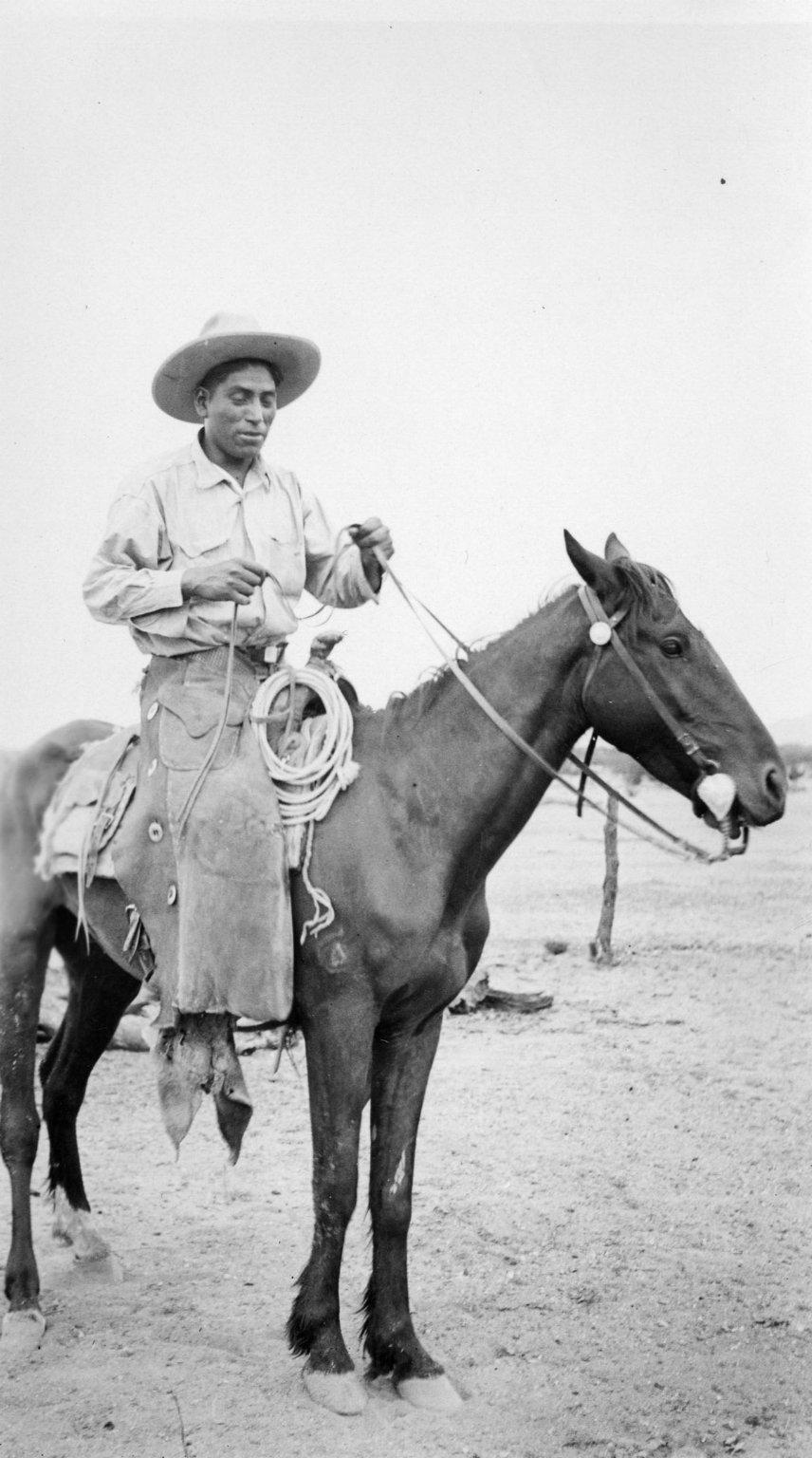 John Pancho on Horseback