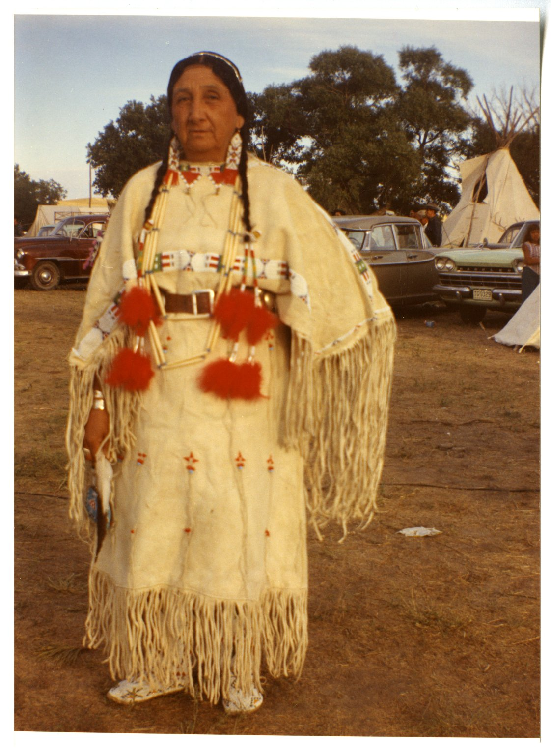 Louise Plenty Holes of the Sioux tribe