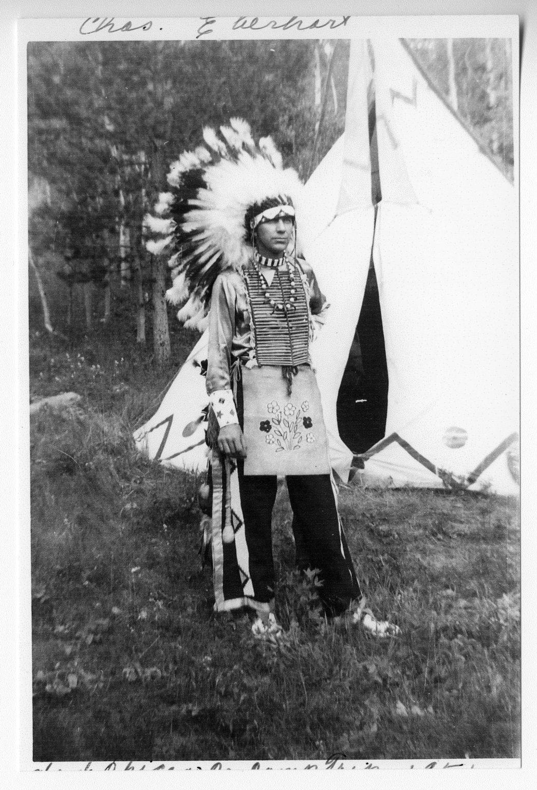 Charles Eberhart on Camping Trip