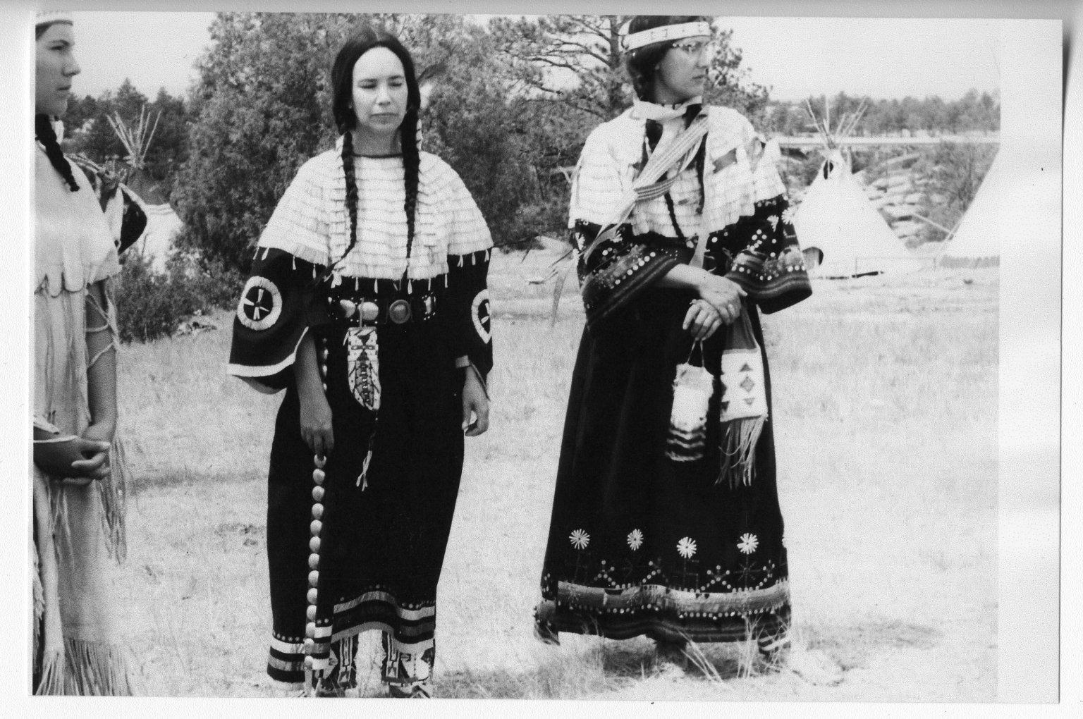 Catherine Eberhart and Wilma Engelhardt