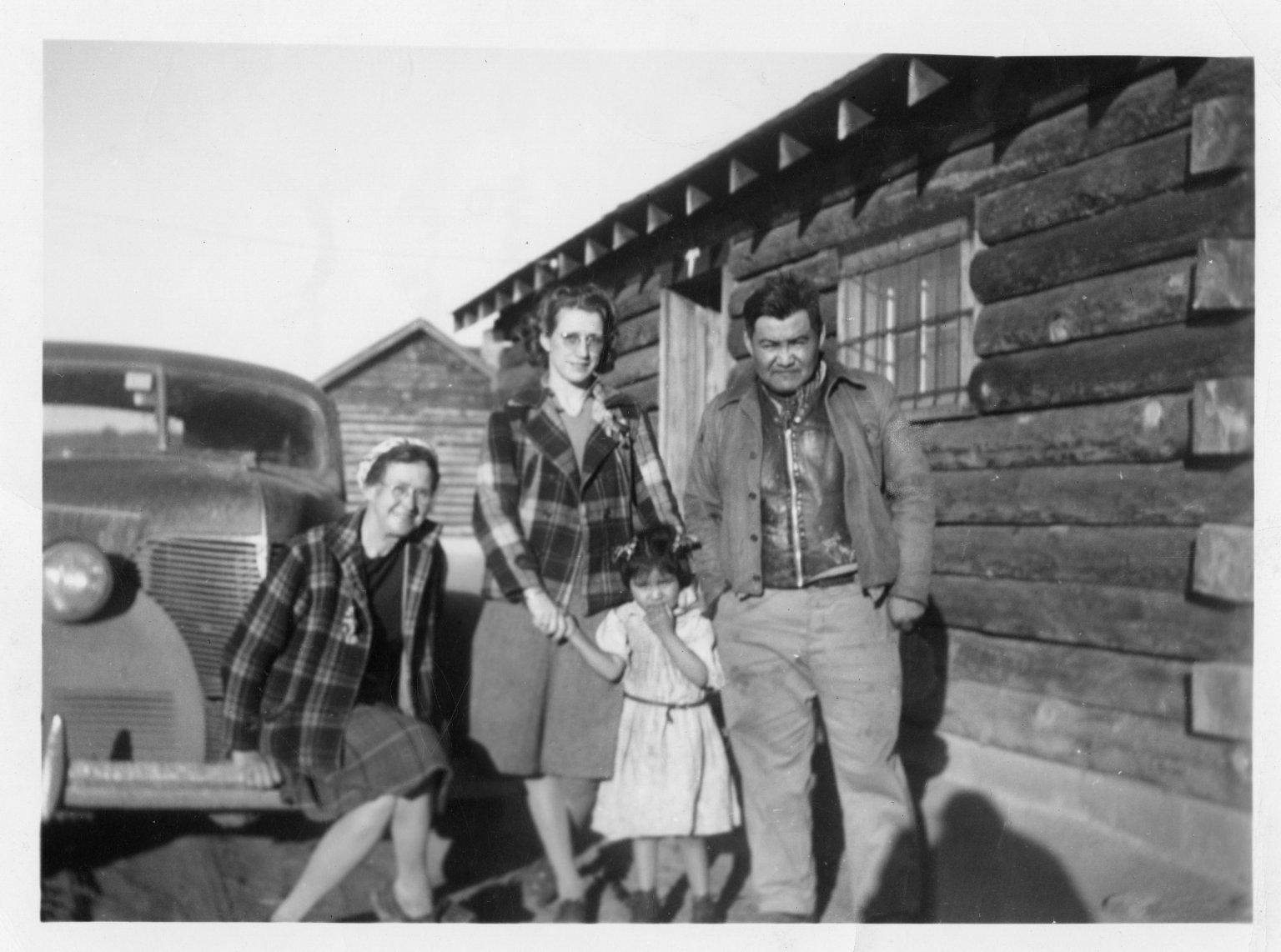 Van Roekel and Hospers with Lincoln Velarde and daughter.