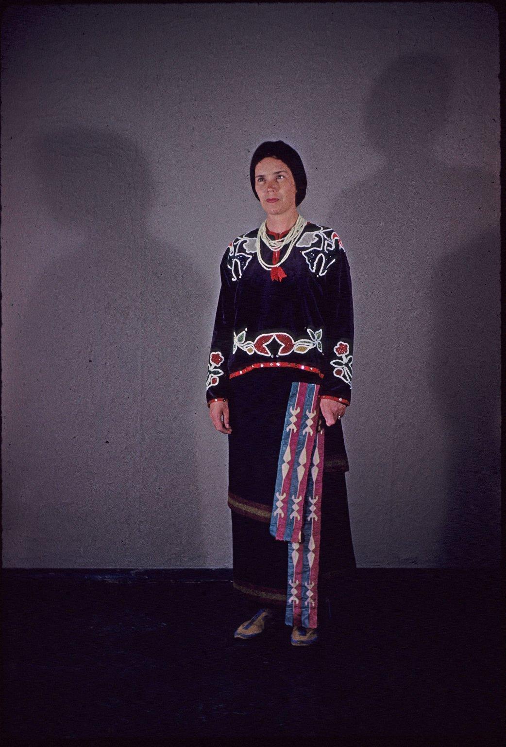 Osage Native Costume